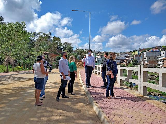 Avenida Íris Vieira: Obra está sendo finalizada e tem chamado bastante atenção dos bonjardinenses