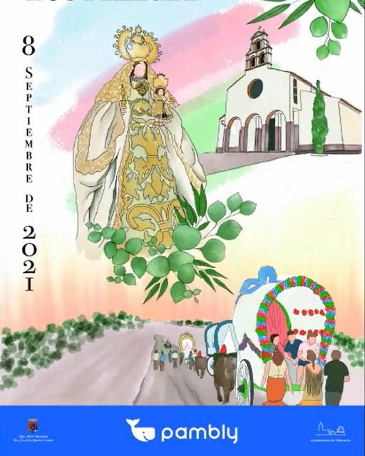 Cartel de Romería de Nuestra Señora de las Montañas 2021, Villamartin