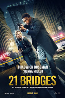 Download 21 Bridges (2019) Full Movie Dual Audio Hindi 720p HDRip