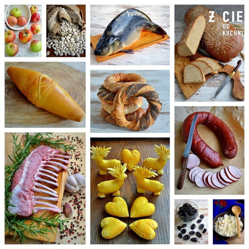malopolskie produkty regionalne, malopolska kuchnia, jablka lackie, fasola piekny jas