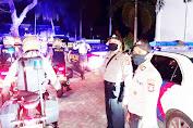 Tingkatkan Kualitas Patrroli, Polres Lombok Barat Melakukan Patroli Skala Besar