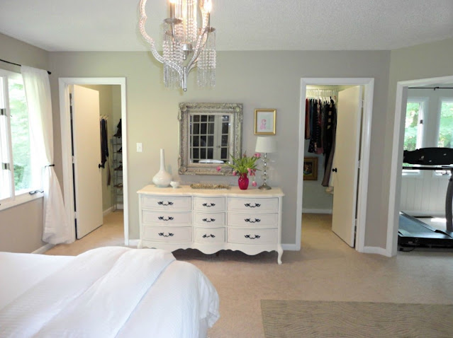 master bedroom with bathroom and walk in closet design ideas