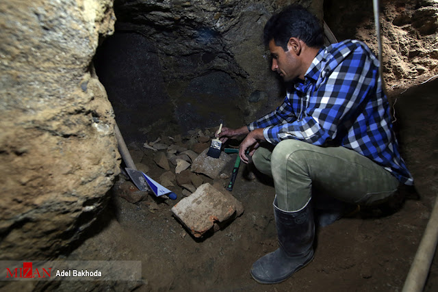 Ancient underground 'city' investigated by Iranian archaeologists