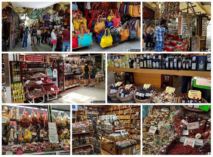 Mercado San Lourenço - Diário de bordo: 2 dias em Florença