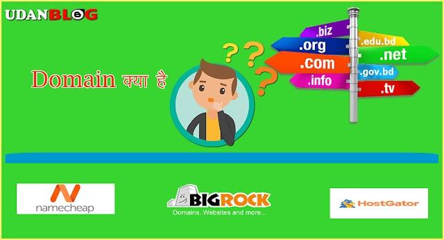 Domain Name क्या  है और कैसे काम करता है?  What is Domain Name in Hindi