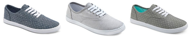 Mossimo Lunea Canvas Sneakers - 2 pairs for $26, only $13 each!