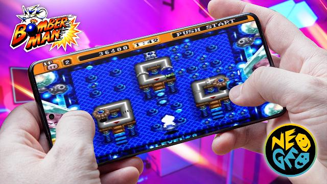 Neo Bomberman Para Teléfonos Android (ROM NEOGEO)