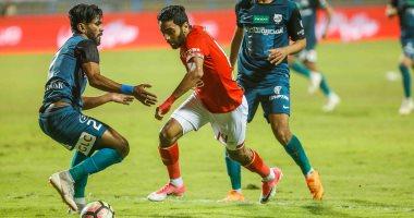 مباراة الاهلي وانبي في الدوري المصري