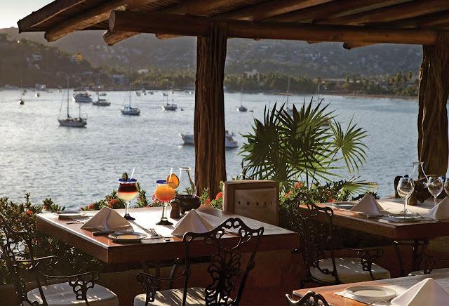 Gastronomía hotel Viceroy Zihuatanejo