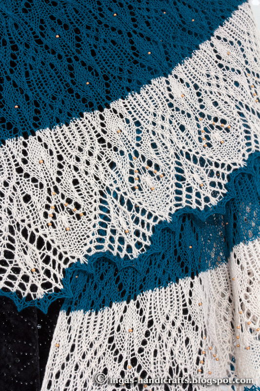 Lady Winter õlasall / Lady Winter Shawl