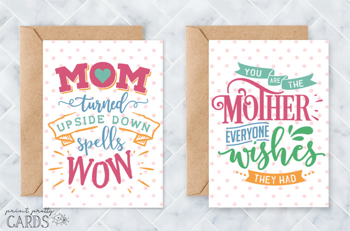 Free Mother's Day Cards to Print