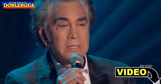 El Puma José Luis Rodriguez homenajeado en los Latin Music Awards
