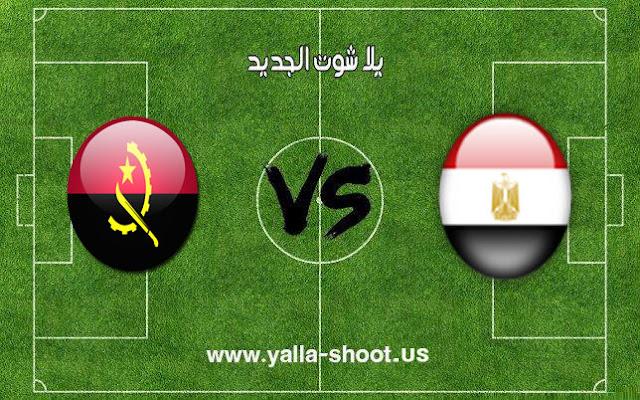 نتيجة مباراة مصر وأنجولا كرة اليد اليوم 17-1-2019 كأس العالم لليد