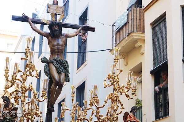 La BCT Paso y Esperanza será la música del señor de la Agonía de Málaga cuatro años más