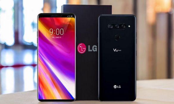 شركة ال جي تكشف عن هاتفها الجديد LG V40 ThinQ بخمس كاميرات !!