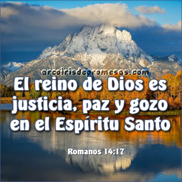 imagen y reflexión de aliento El reino de Dios