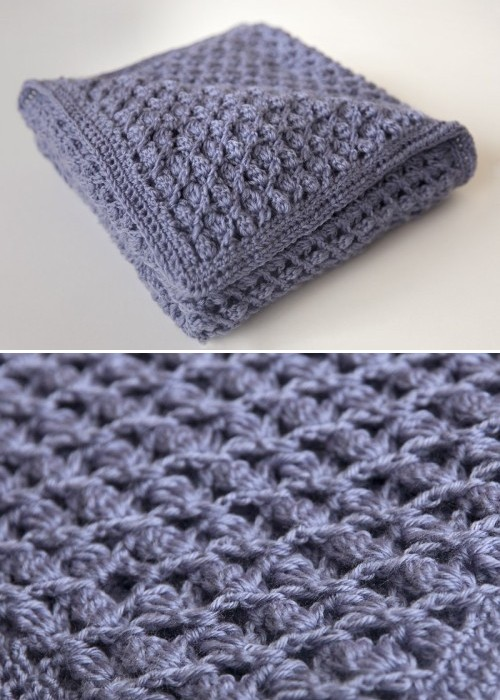 Heirloom Baby Blanket - Free Crochet Pattern