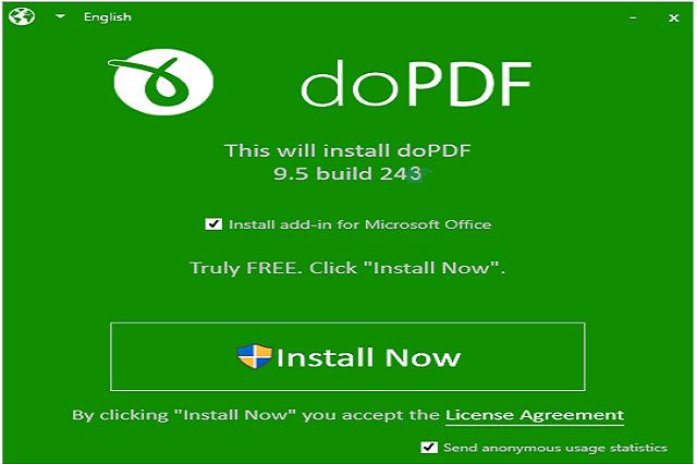 تحميل برنامج دو بي دي اف لتحويل لملفات النصية الي ملف pdf  عن طريق dopdf