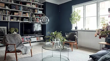 Pintar las paredes de azul ¿Sí o no?