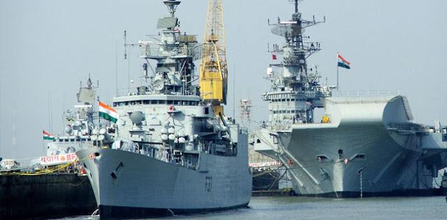 4 Kapal Perang India Singgahi Tanjung Priok