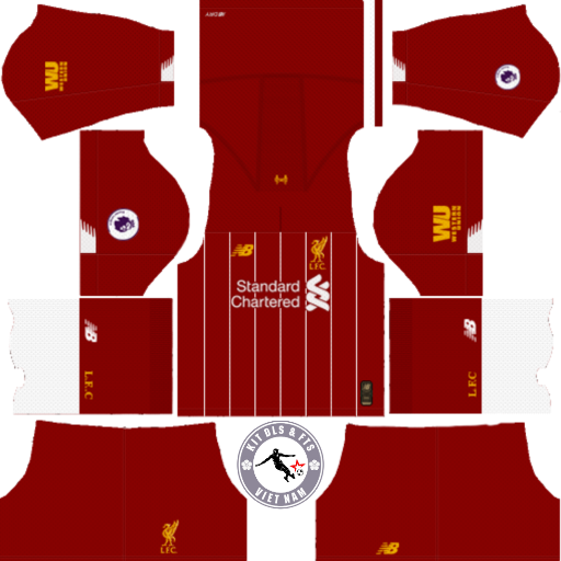 Kits CLB Liverpool 2019 - 2020 - Dream League Soccer 2019 & First Touch Soccer