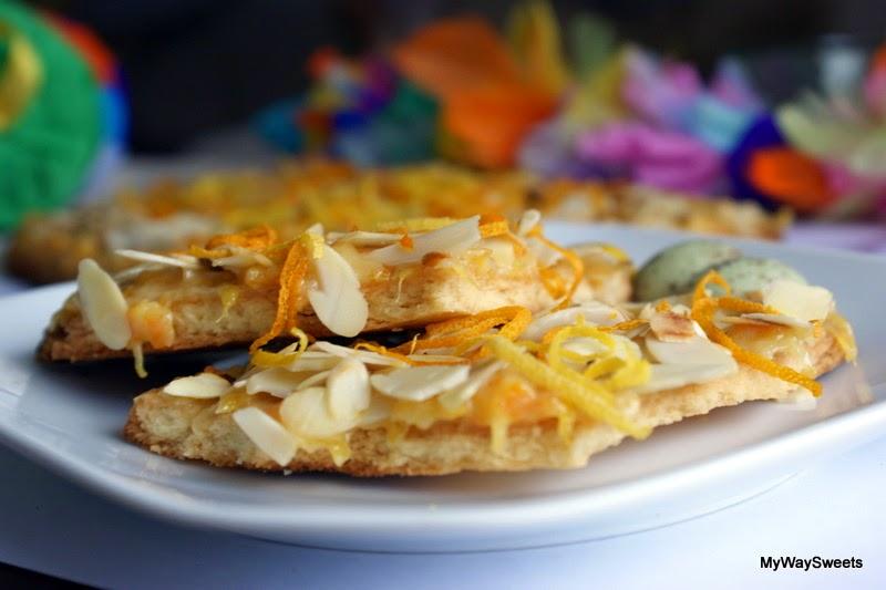 ciasto pomarańczowo-cytrynowe