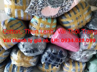 Thanh Lý Lô Vải Thun Cotton, Thun Lạnh, Atiway, Vải Thời Trang Tại Thủ Dầu Một, Bình Dương