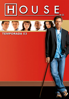 House, M.D. (TV Series) S03 DVD R1 NTSC Latino 6xDVD5