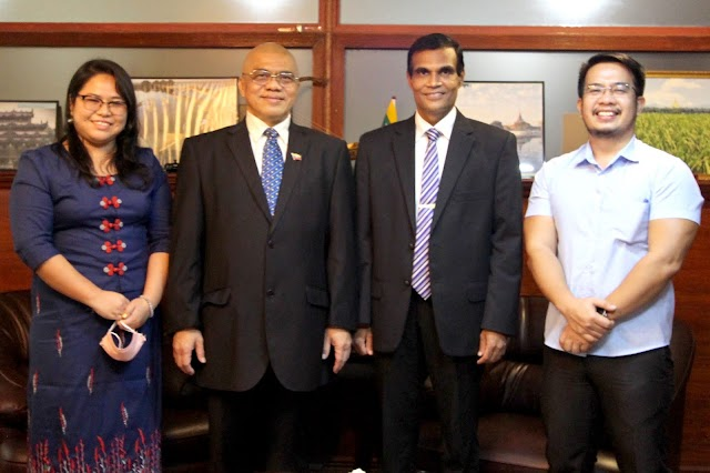 CPSC Director General Embarks on a Courtesy Visit to the Embassy of Myanmar in the Philippines
