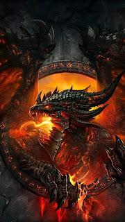 Dragon World of Warcraft Mobile HD Wallpaper