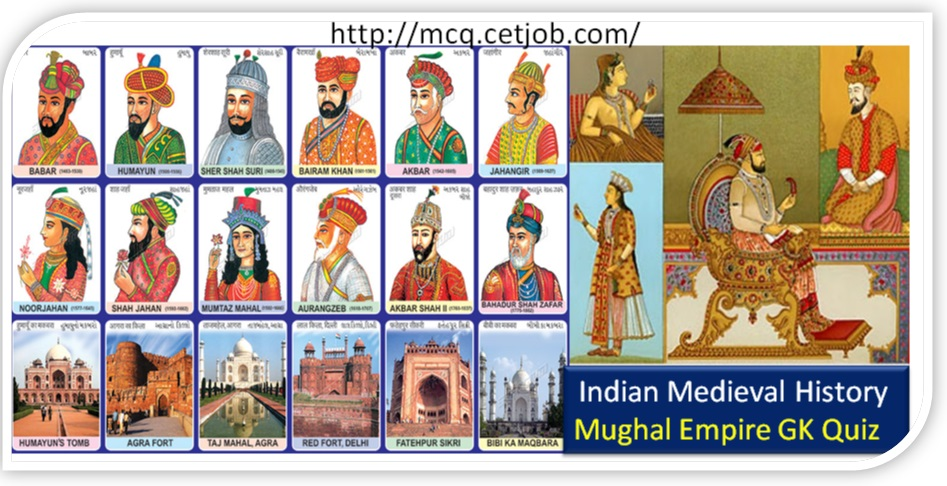 Medieval Indian History Quiz-8 Medieval History Mughal Empire MCQ - mughal empire