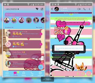 Paris Theme For YOWhatsApp & Fouad WhatsApp By Ale