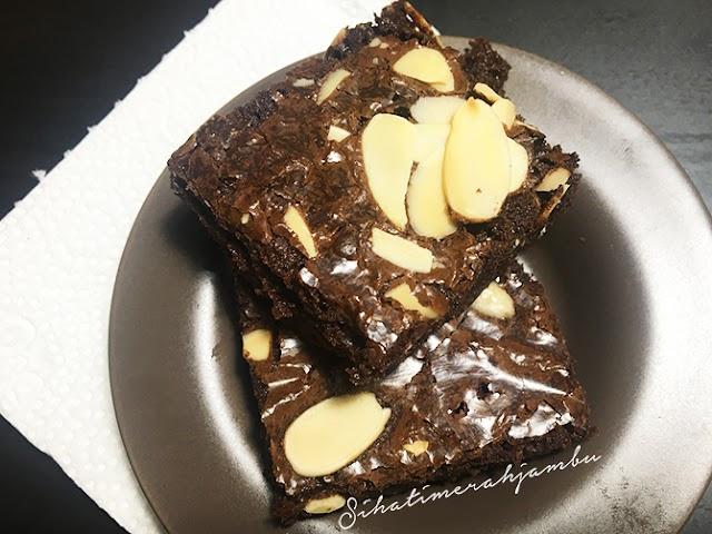 Resepi Brownies Kedut Senang Ya Amat!
