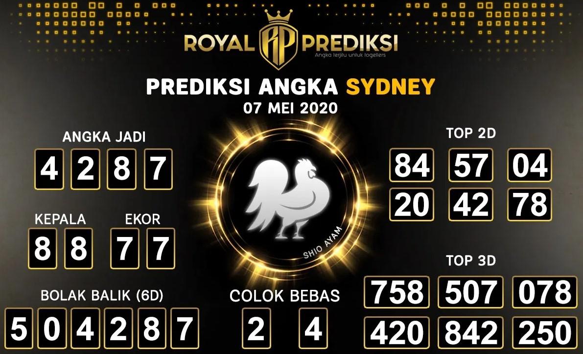 Prediksi Sydney 07 Mei 2020 - Royal Prediksi Sydney