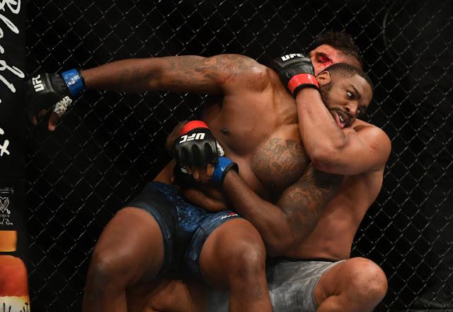 Alistair Overeem Wrestles Walt Harris UFC on ESPN 8