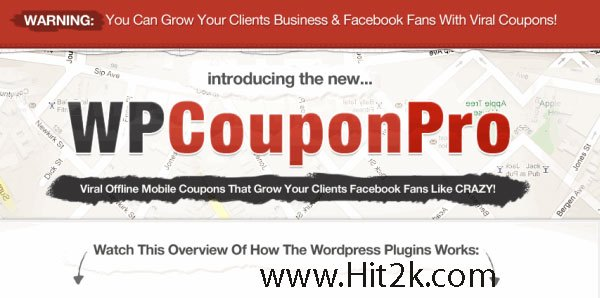 WP Coupon Pro Easily allow your clients customer For WordPress Plugin