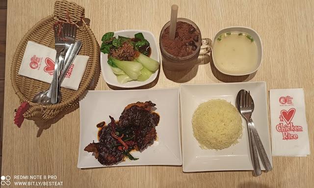 TCRS - Ayam Sedap Baq Hang Ramadan 2021 Promotion - Top View  - Set Meal 1 Pax