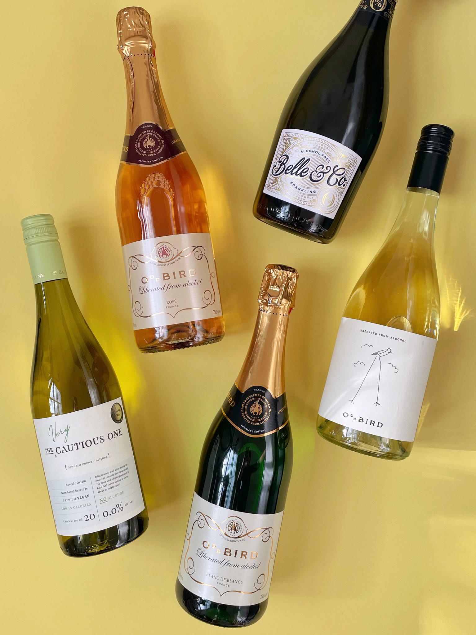 Alcohol-Free Wines from Oddbird, Belle & Co and De Bortoli - UK food & lifestyle blog