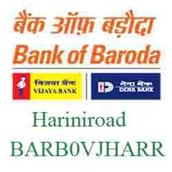 Vijaya Baroda Bank Harini road, Vadodara Branch New IFSC, MICR