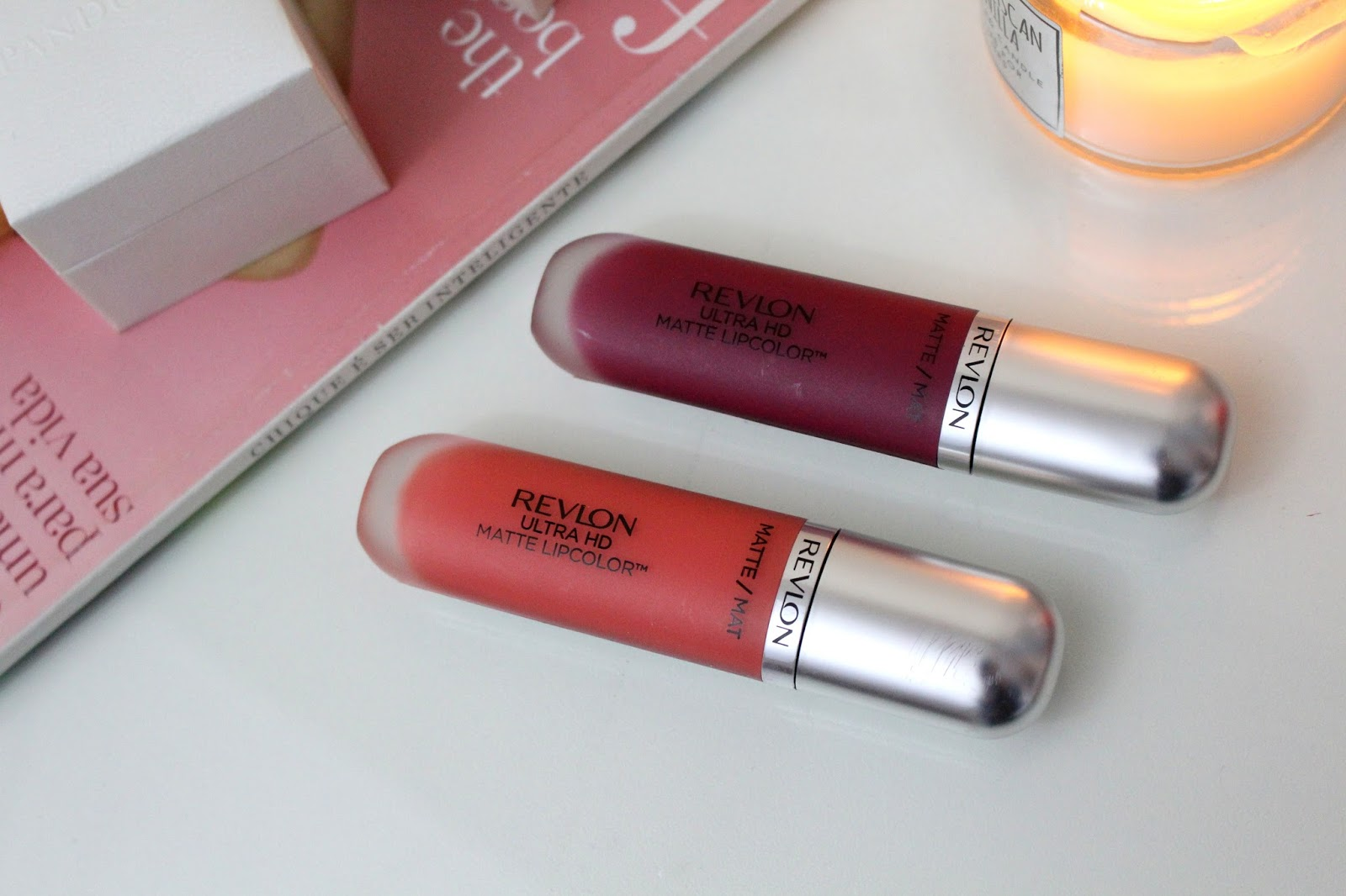 Ultra HD Matte Lipcolor Revlon Ana do dia