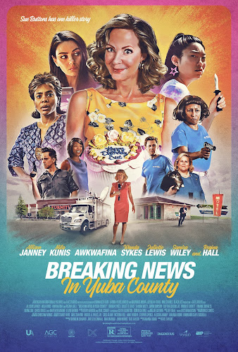 Breaking News in Yuba County (BRRip 720p Dual Latino / Ingles) (2021)