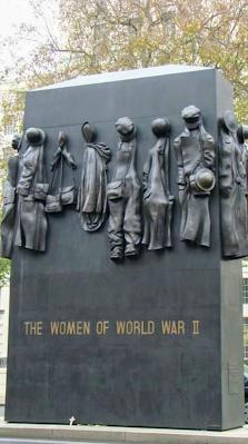 Único Monumento a la mujer de la segunda guerra mundial en Londres