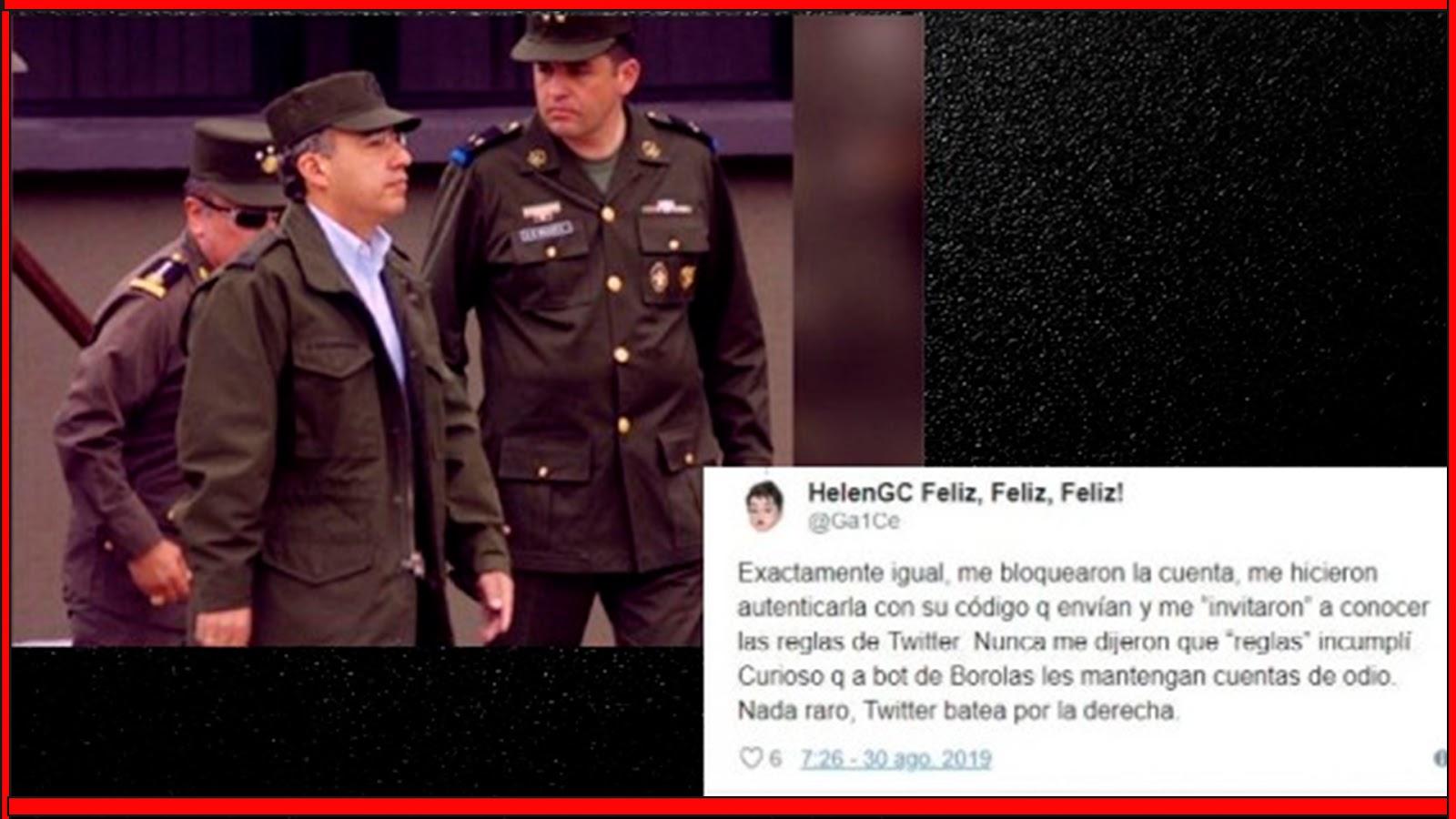 """Felipe Calderón solicita a Twitter bloquear a todo aquel que lo llame """"borolas""""…"""