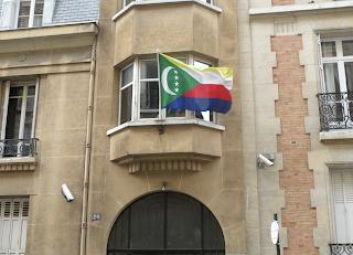 L'Ambassade des Comores à Paris fermée jusqu'à nouvel ordre