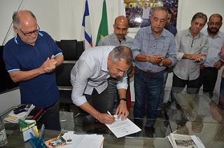 Alagoinhas: Joaquim Neto dá posse a coronel Raimundo Nonato como novo superintendente da SMTT