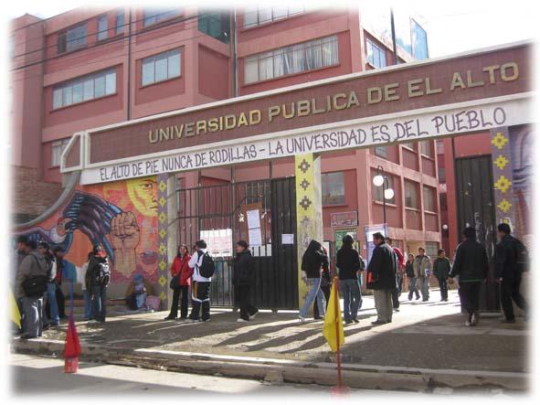 El rector de la UPEA anuncia clases presenciales a partir del 2021