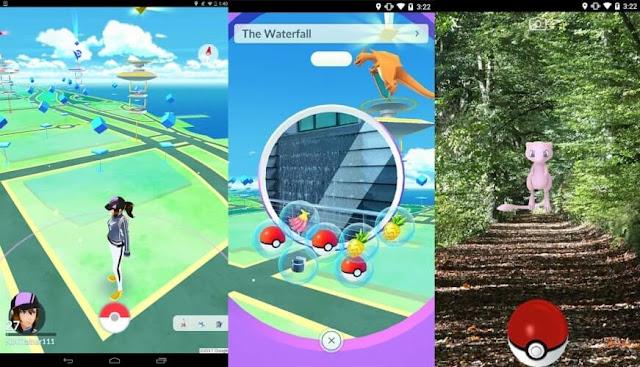 Daftar Game Pokemon Resmi (Buatan Official) Untuk Android - Pokemon GO