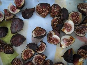 Figs Drying in the Spanish Sunshine