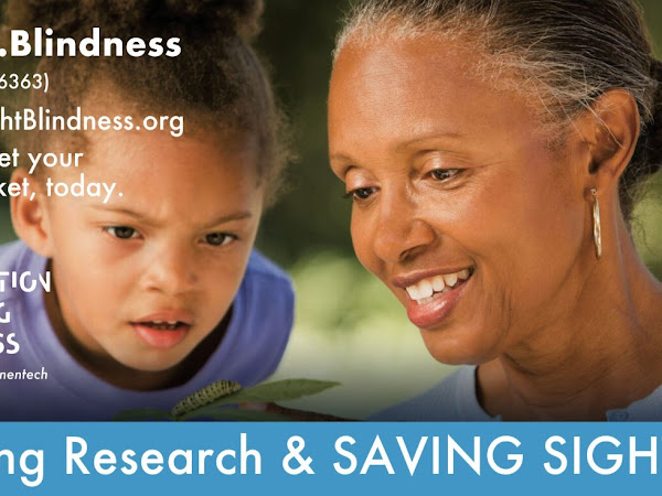 Driving Research & SAVING SIGHT with Foundation Fighting Blindness {Get a Free Info Packet}