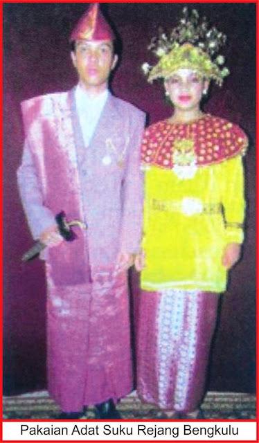 gambar pakaian adat suku rejang bengkulu